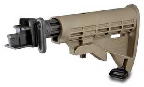Tapco AK T6 Collapsible Stock Dark Earth STK06160-DE