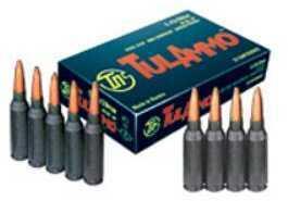 TulAmmo USA Steel Case 5.46x39 60 Grain Full Metal Jacket 20 Round Box TA545390