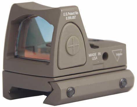 Trijicon Ruggedized Miniature Reflex, Adjustable, Red Dot,Flat Dark Earth Finish, 6.5 MOA Rm07-C-700237