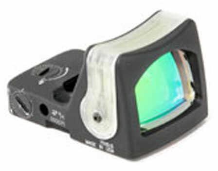 Trijicon Ruggedized Miniature Reflex Sight, Red Dot, Flat Dark Earth Finish, Green Triangle Rm08-C-700282