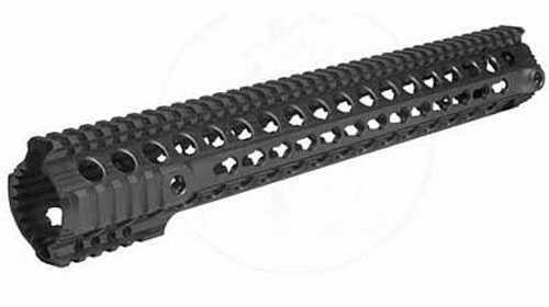 """Troy Industries Troy BattleRail, Rail, Fits AR, 5.56, 15"""", M-Lok, Carbon Fiber, Black Finish SRAI-Mc1-15BT-00"""
