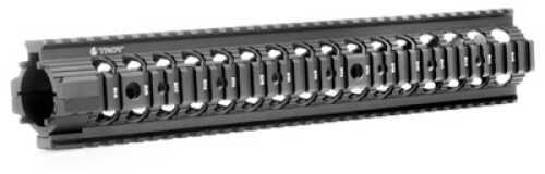 """Troy Industries MRF Rail Black Free Floating AR-15 13.8"""" SRAI-MRF-R3BT-00"""