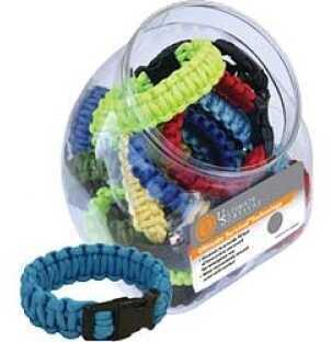 UST - Ultimate Survival Technologies Survival Bracelet Assorted Bright Colors 24 Part 26-190-295B-A24