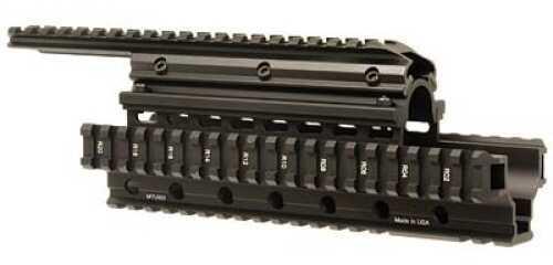 Leapers UTG Rail Black Quad Rail System Saiga 12GA MTU002