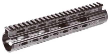 Leapers, Inc. - UTG Rail Black Mid Lenght Super Slim Free Float Handguard AR Rifles MTU004SS