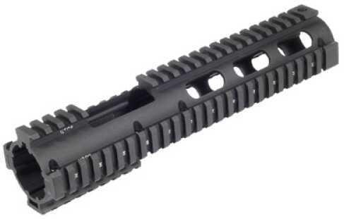Leapers, Inc. - UTG Model 4/15 Rail Black Carbine Length Quad Rail with Front Extension AR Rifles MTU015