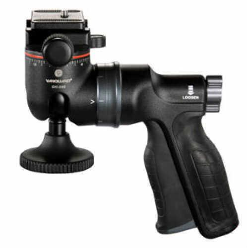Vanguard Tripod Head Black w/ Ergonomic Handle Versatile GH-100