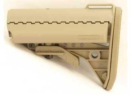 VLTOR IMOD Mil-Spec Stock Fits AR-15 with Butt Pad Tan Finish AIB-MST