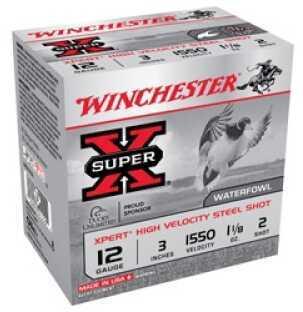 """Winchester XPERT HV STEEL 12G 3"""" 25BX WEX1232"""