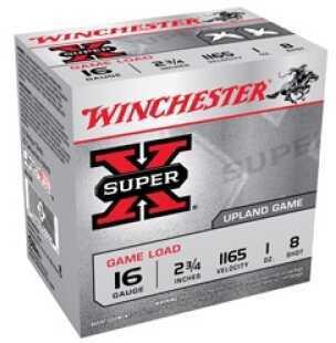 "Winchester 16 Gauge 16 Gauge, 2 3/4"", 1oz 8 Shot, (Per 25) XU168"