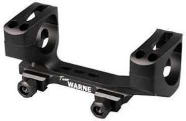 Warne Scope Mounts Tactical 1 Piece Base, Fits Mark V Magnum 9 Lug,Matte Finish M654M