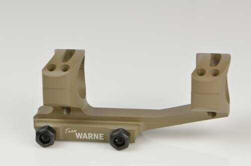 Warne Scope Mounts Gen 2 Scope Mount, 30mm Fior AR Rifles, Extended Skeletonized, Dark Earth Finish Md: XSKEL30DE