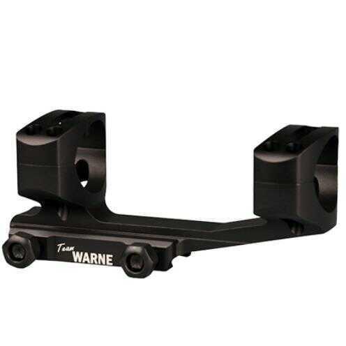 Warne Scope Mounts Generation 2 Mount, 30mm, Fits AR Rifles, ExtendedSkeletonized, Black Finish XSKEL30TW