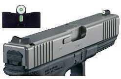 XS Sight Systems XS 24/7 Big Dot Tritium Express Sight Glock Small Frame Md: GL-0001S-5