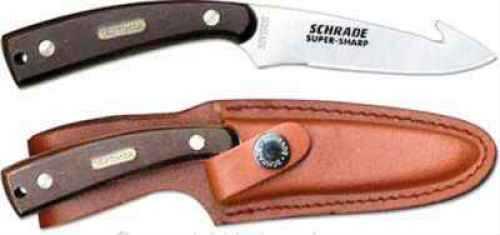 Taylor Brands / BTI Tools SW Knife / Taylor Brands Schrade Knife Old Timer 7-1/4 Guthook Skinner W/Sheath 158OT