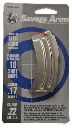 Savage Arms Magazine Box MKII Series, 10 Shot, Stainless 90008