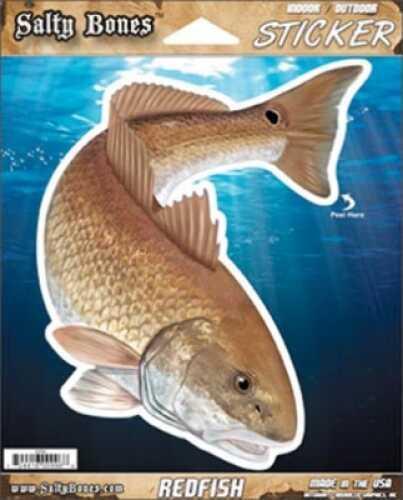 Salty Bones / Advanced Graphics Salty Bones /Advanced Graphics Salty Bones Decal Ripped Redfish Md#: SB-10