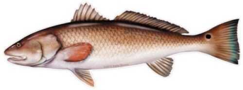 Salty Bones / Advanced Graphics Salty Bones /Advanced Graphics Salty Bones Profile Fish Decal 13-3/4in X 4-3/4in Redfish Md#: BPF2477