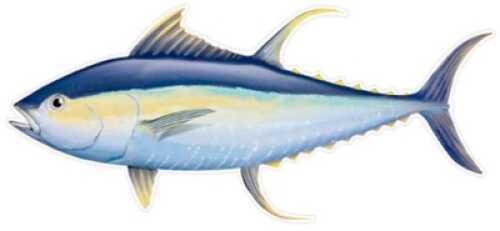 Salty Bones / Advanced Graphics Salty Bones /Advanced Graphics Salty Bones Profile Fish Decal 13-3/4in X 4-3/4in Tuna Md#: BPF2480