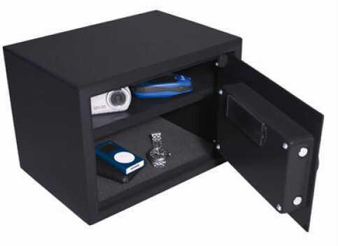 SecureVault Select Small Handgun Safe Digital LED keypad w/manual key override - Tamper resistant w/incorrect co 33083