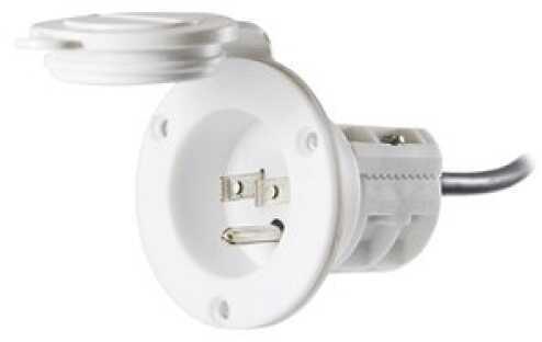 Minn Kota MKR-23 AC Power Port (White) 1865110