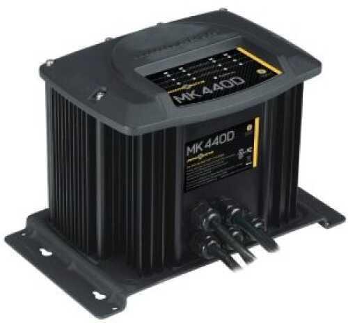 Minn Kota MK-440D Digital Linear Charger 4 Bank 10 Amp MN# 1824405