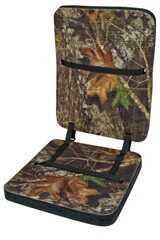 Mossyoak Graphics Moh Deluxe Foam Seat W/Backrest MoBu Mo-Cushb-Bu