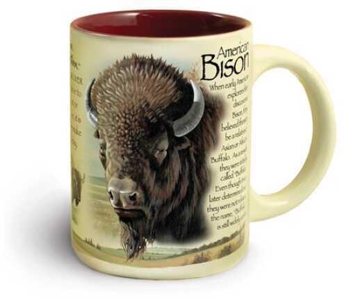 American Expedition Wildlife Ceramic Mug 16 Oz - Buffalo