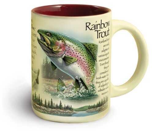 American Expedition Wildlife Ceramic Mug 16 Oz - Rainbow Trout