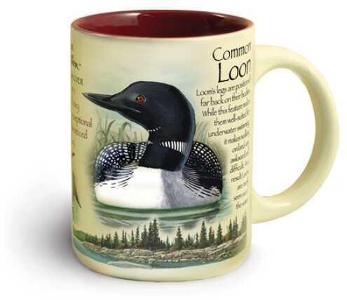 American Expedition Wildlife Ceramic Mug 16 Oz - Loon