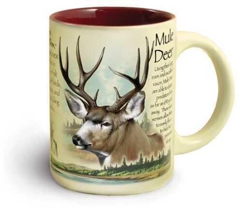 American Expedition Wildlife Ceramic Mug 16 Oz - Mule Deer