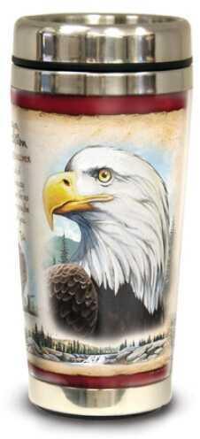 American Expedition Wildlife Steel Travel Mug - Bald Eagle