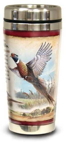 American Expedition Wildlife Steel Travel Mug - Pheasant