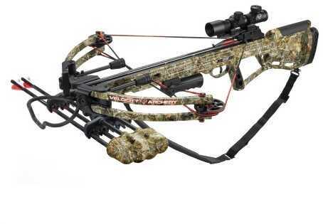 Velocity Archery Velocity Defiant Crossbow Package Reaper Buck Camo 150 lbs. Model: XB-350
