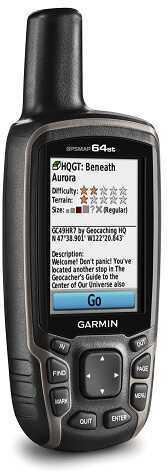 Garmin GPSMAP 64st GPS Handheld Device 010-01199-20