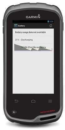 Garmin Monterra w/TOPO US Maps GPS Navigator Handheld Device 010-01065-03