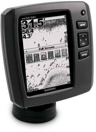 """Garmin Echo 201 Fishfinder - 5"""" Grayscale 010-01259-01"""