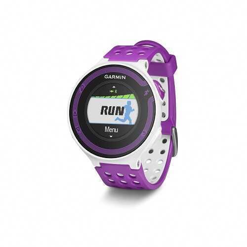 Garmin Forerunner 220 GPS Running Watch White/Violet 010-01147-01