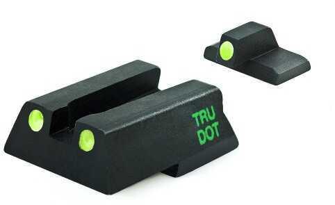 Meprolight HK Fixed Set Tru-Dot NS HK 45C/P30/VP9 Green Tritium Front/Rear 11545