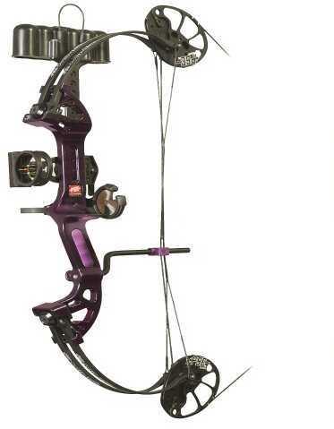 PSE Ready To Shoot Mini Burner XT LH Purple Rain 29 Lbs 1116VSLPR2529
