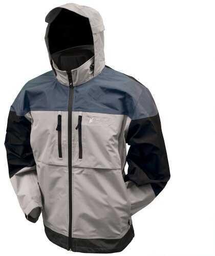 Frogg Toggs Anura 3-Tone Jacket Dove Gray/Slate/Black, Large