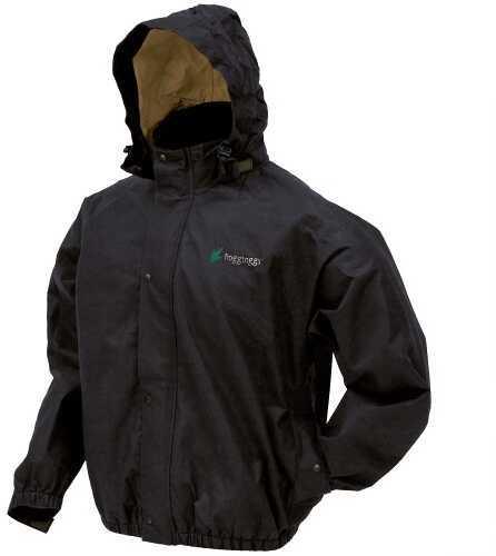 Frogg Toggs Bull Frogg Jacket Black - Small PS63172-01SM