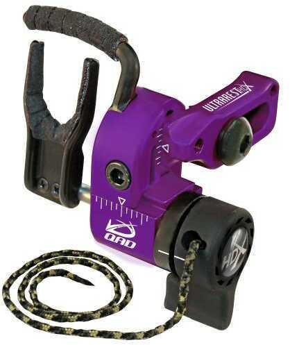 Quality Archery Design Ultrarest HDX Purple- Right Hand
