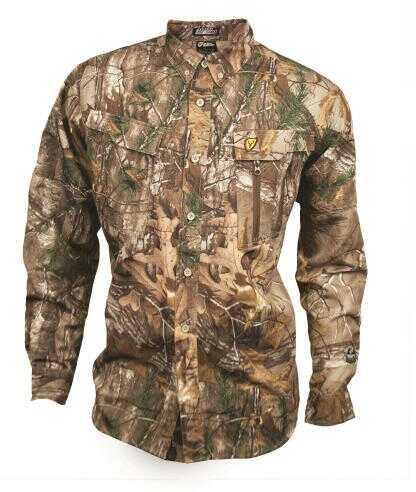 ScentBlocker / Robinson Outdoors Scent Blocker Trinity Featherlite Shirt - L