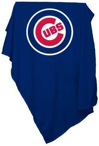 Logo Chair Chicago Cubs Sweatshirt Blanket