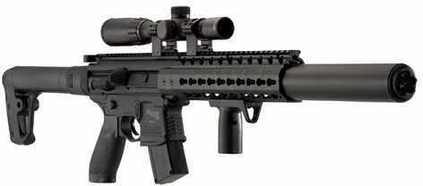 Sig Sauer MCX Air Rifle.177 Cal Co2 30Rd Black Air-Scope-14X24