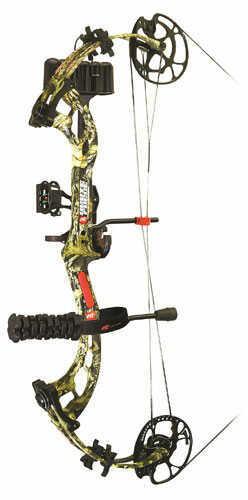 PSE Brute Force Ready to Shot Bow Package 29-70 RH Mossy Oak