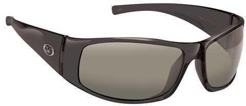 Flying Fisherman Fly Fish Magnum Sunglasses Black/Smoke 7352BS