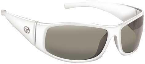 Flying Fisherman Fly Fish Magnum Sunglasses Pearl White/Smoke 7352WS
