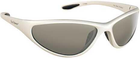 Flying Fisherman Fly Fish Key West Sunglasses Matte Silver/Smoke 7780SS